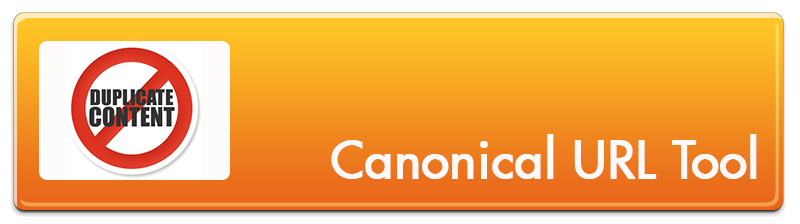 Avoid Duplicate Content - Use The Canonical URL Tool