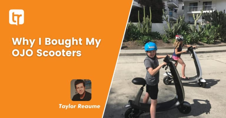 Why I Bought My Ojo Electric Scooters