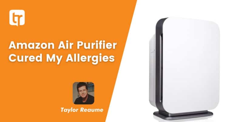 Amazon Air Purifier Cured My Allergies