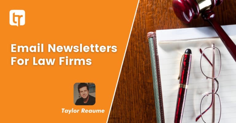 How To Write Email Newsletters For Law Firms