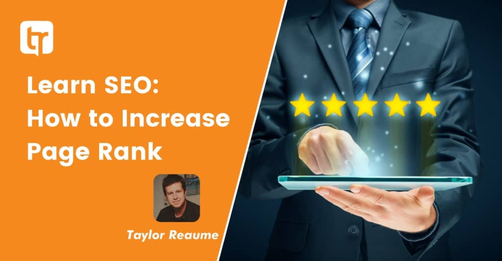 Learn SEO: How to Increase Page Rank
