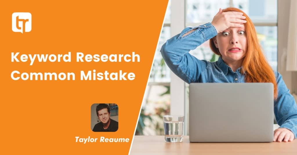 Search Engine Keywords: the #1 Keyword Research Mistake