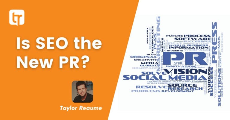 Is SEO the New PR?