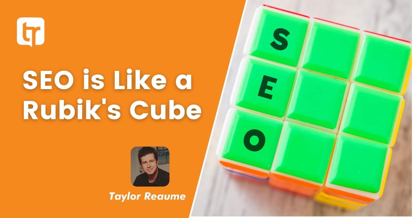 SEO Is Like A Rubik's Cube