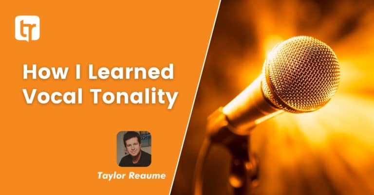 How I Learned Vocal Tonality