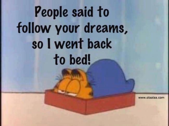 Follow Your Dreams : )